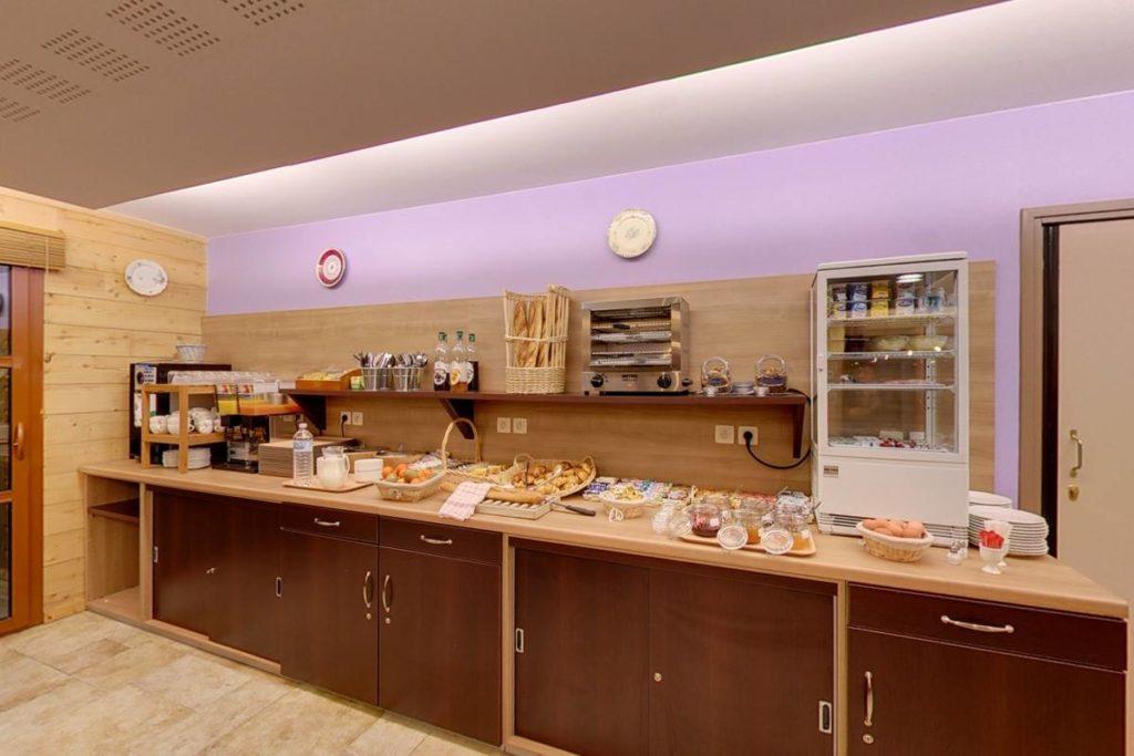 Buffet petit-déjeuner les étoiles du forez
