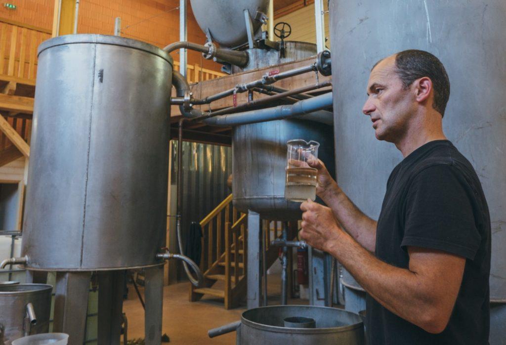 La distillerie Abiessence